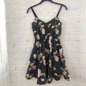 Urban Outfitters Kimchi Blue Floral Dress XS